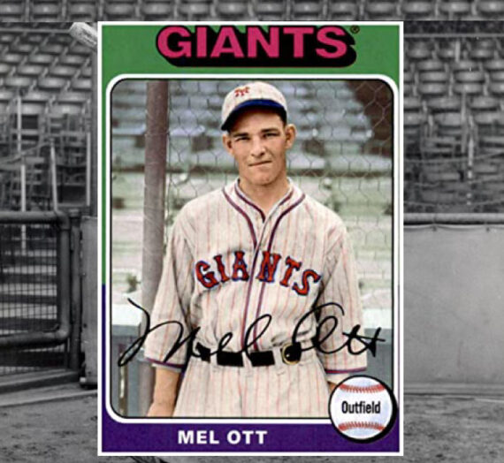 Mel Ott, Gretna's Baseball Prodigy